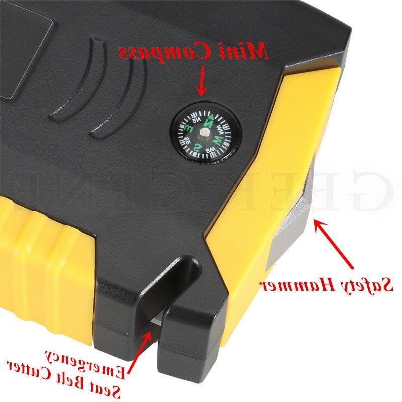 GKFLY <font><b>Car</b></font> Power Bank 600A <font><b>Car</b></font> Battery 12V Diesel Starter Buster