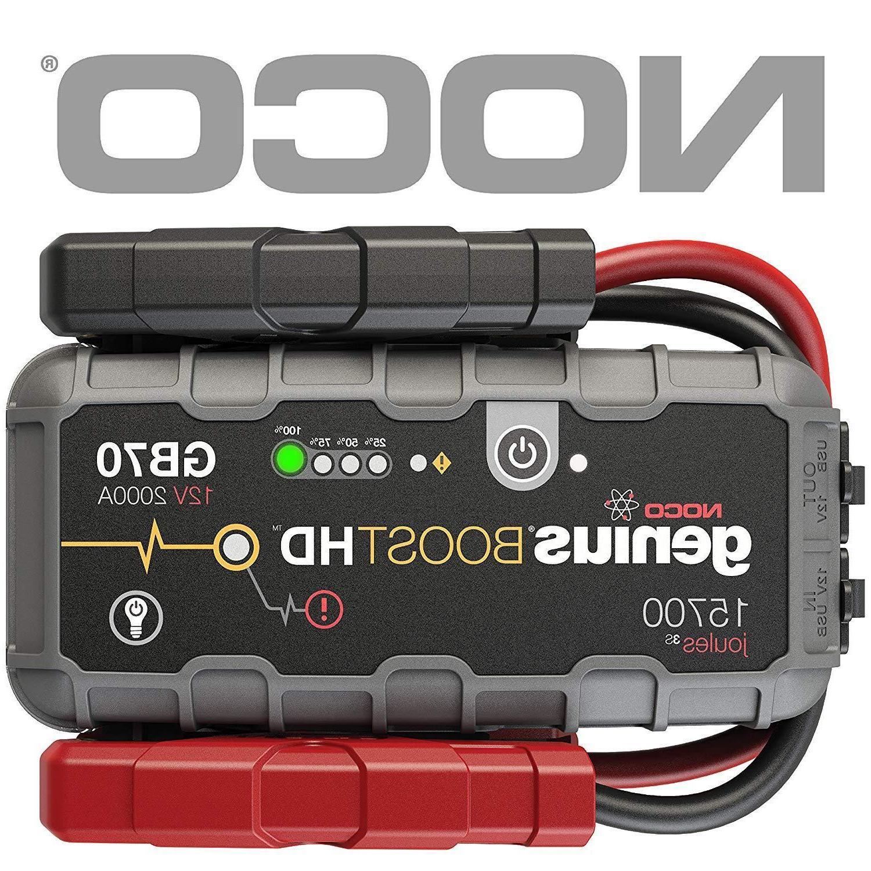 Portable Case Noco Boost Hd Gb70 2000 Amp Manual Guide