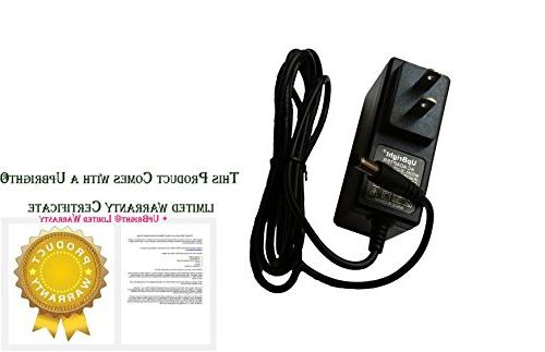 UpBright NEW Global AC/DC Adapter Duralast Booster Jump Starter Peak 750 Amp Jumpstarter Cord Cable PS Battery Charger Mains