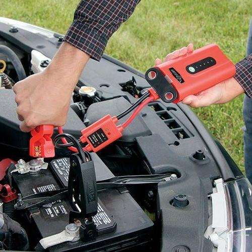 Jump Starter Portable Power Source Tactical Light