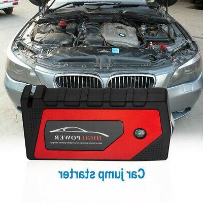 69800mAh 12V Car Starter Portable USB Power Bank Battery 600A