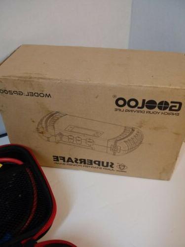 model gp200 supersafe portable car jump starter