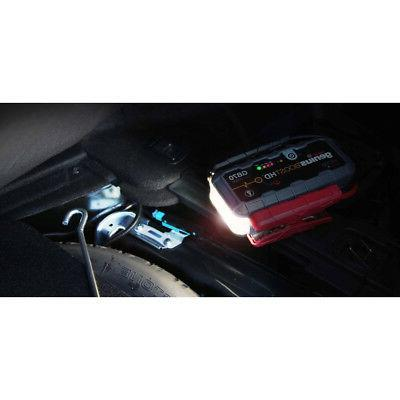 NOCO Boost HD 2,000A UltraSafe Lithium Jump Starter