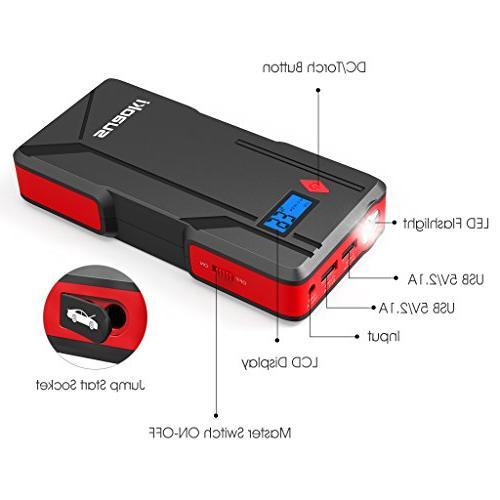 SUAOKI P6 800A Car Starter Pack Dual Port Bank