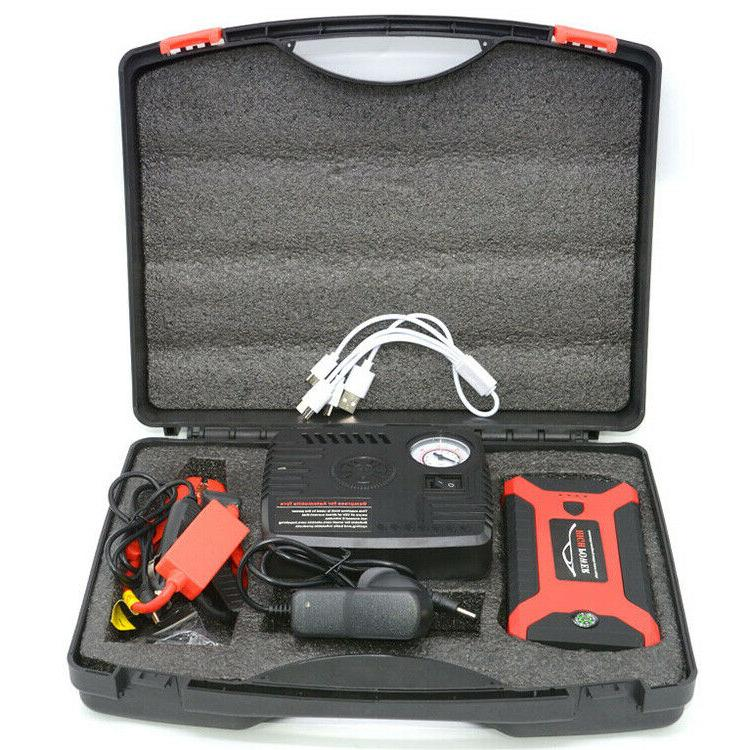 Portable 20000mAh Jump Starter Charger