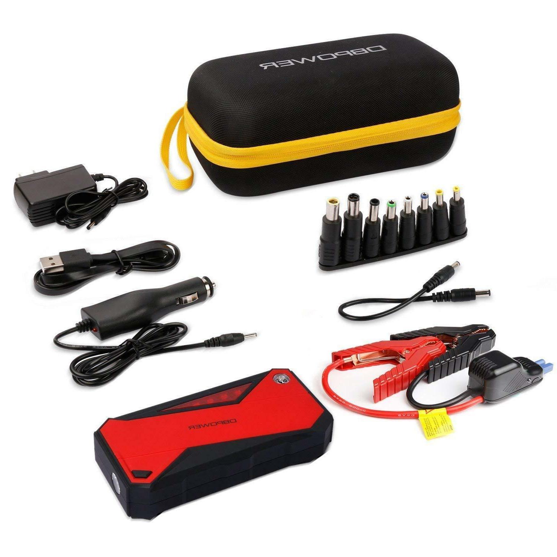 DBPower Car Starter 600a Peak Battery