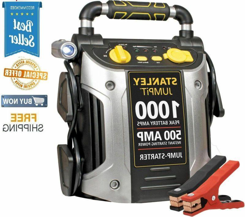 portable jump starter 500 amp 1000 peak