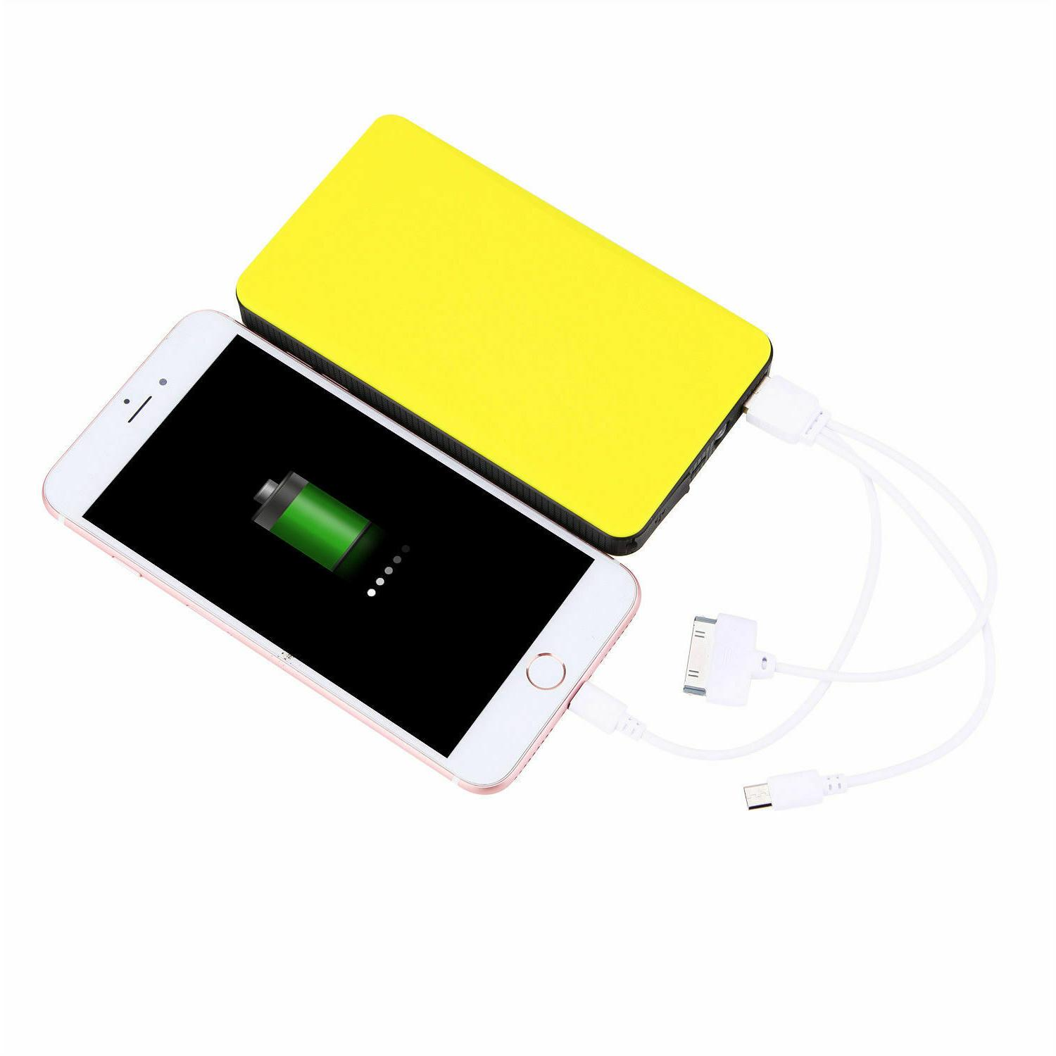 Portable Mini Car Jump Starter Battery Charger Bank