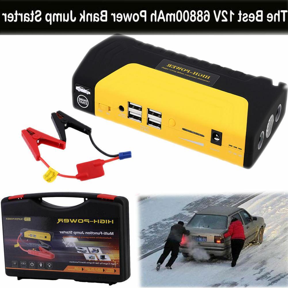 Portable Mini Slim USB Jump 12V Bank