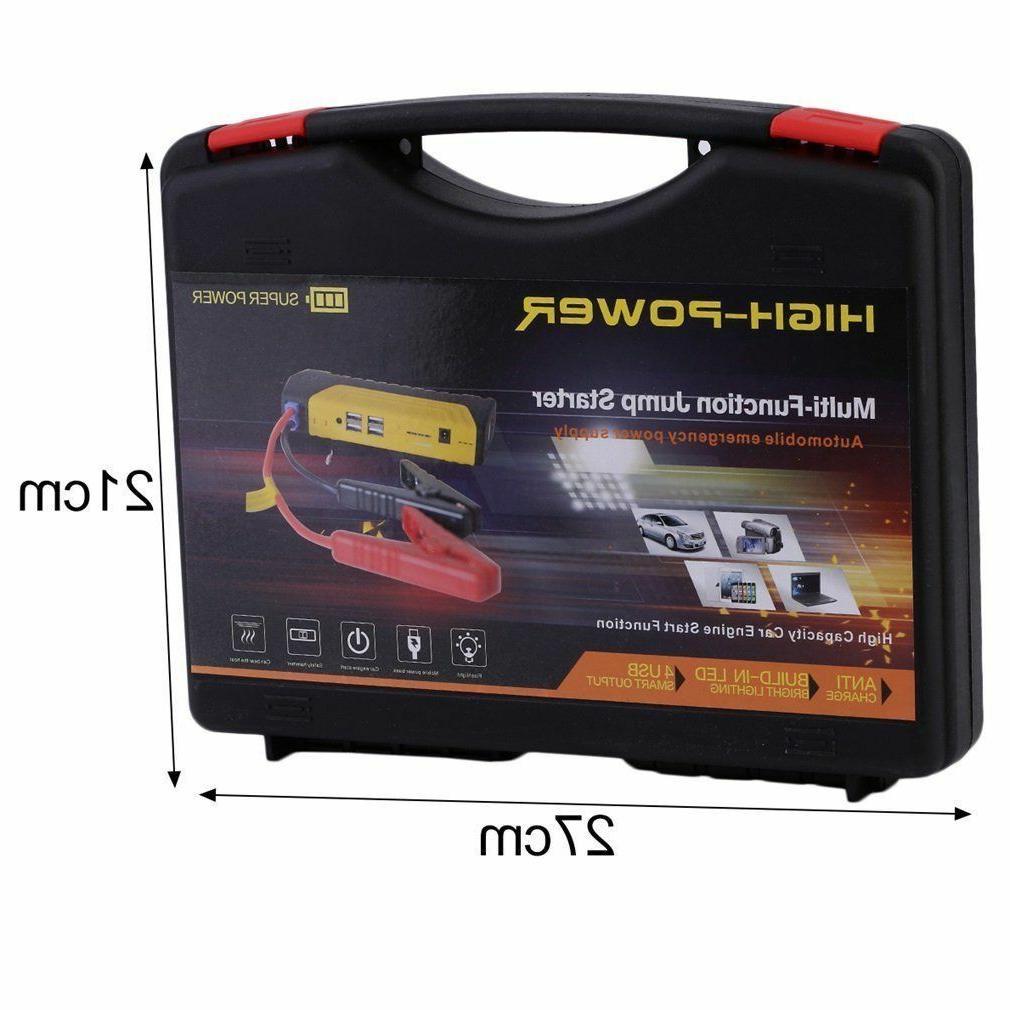 Portable USB Car Starter 12V Battery Bank
