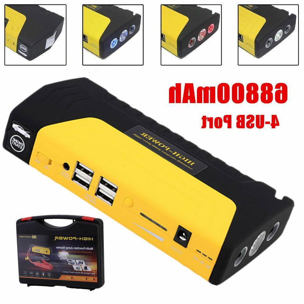 Portable Slim USB Car Starter 12V Bank