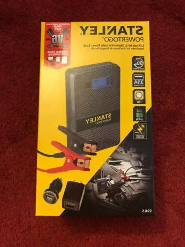 power to go lithium ion jump starter