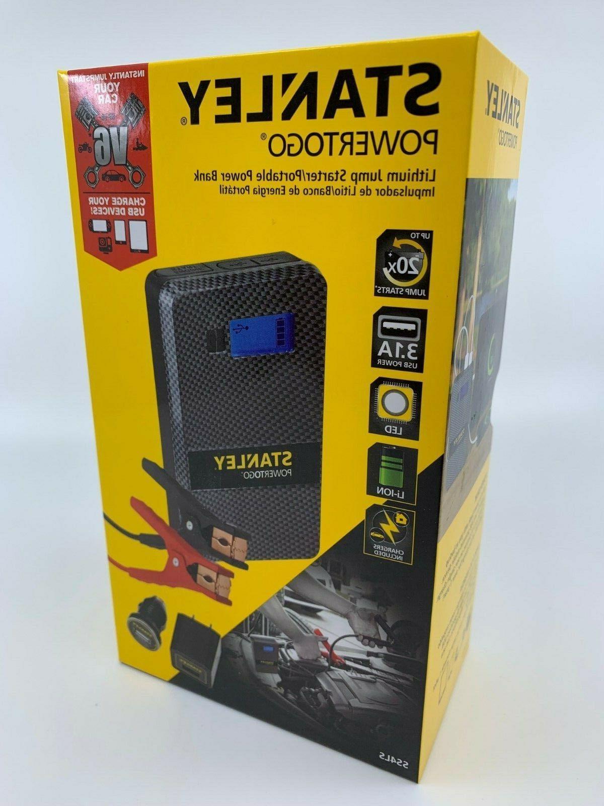 powertogo lithium jump starter portable