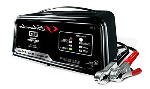 Schumacher Sc1305 6 2 10 50a 12v Fully Automatic Battery Charger Engine