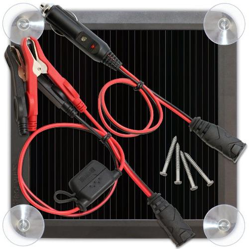solar battery charger car auto