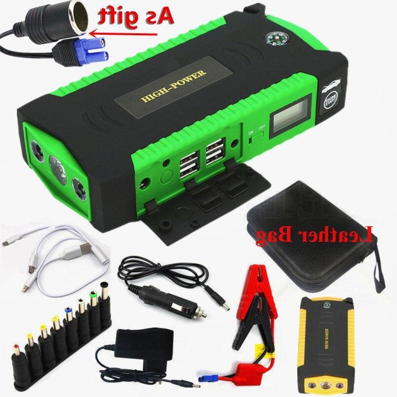GKFLY Super Power Device 12V <font><b>Jump</b></font> <font><b>Starter</b></font> Car Charger Car Battery Booster Diesel