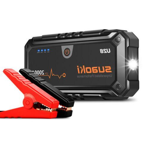 Suaoki U28 Auto & Car Jump Pack+USB Power
