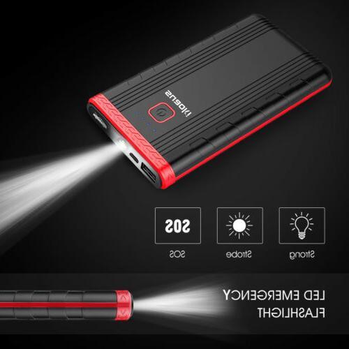 Suaoki U3 Car Battery Phone Intelligent Clamps