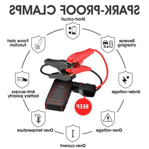 SUAOKI U7 12000mAh Car Jump Starter Power Bank