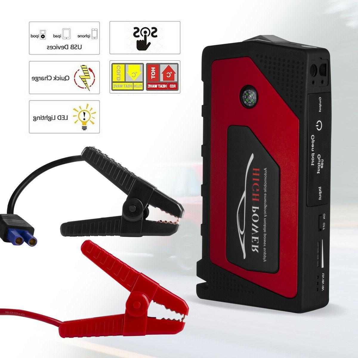 Car Starter, 69800mAh Portable Power with 12V