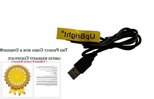 UpBright Cable PC Charging Charger Power Replacement for 8000mAh T10 Car Bank Portable