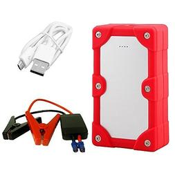 Multi-functional Car Jump Starter and 7500mAh Power Bank wit