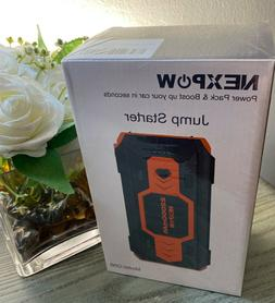 Nexpow jump starter power pack and boost NEW MODELQ9B