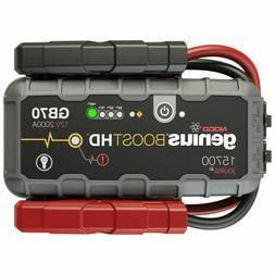 NOCO Boost HD GB70 2000-Amp 12-Volt UltraSafe Jump Starter -