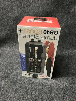 NOCO GB40 Genius Boost Plus 1,000A Jump Starter, Free Shippi