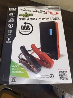 SCHUMACHER  &. NOCO Jump Starter Portable Packs.