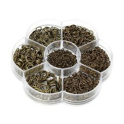 Open Jump Rings Findings Starter for Beading Jewelry Making