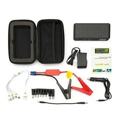 Zamp solar 500 amp peak portable car jump starter and phone