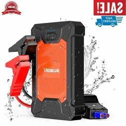 Portable Car Jump Starter 12V Auto Battery Booster Power Pac