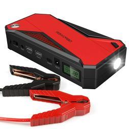 DBPower Portable Car Jump Starter 600a Peak 18000mah Battery