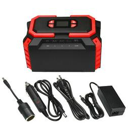 Portable Charging Station Solar Power Source 222Wh Jump Star