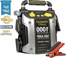 Portable Jump Starter 500 Amp 1000 Peak Battery Power Car Tr