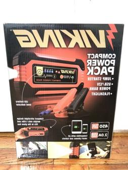 Portable Lithium Ion Battery Charger Jump Starter and USB Po