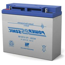 Power-Sonic 12V 18AH Battery Replacement for Stanley Jump St