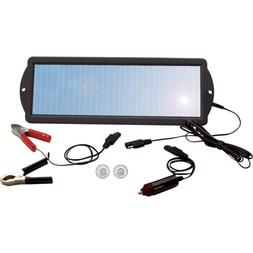 Solar Car/Boat/RV 12V Battery Maintainer/Trickle Charger-No